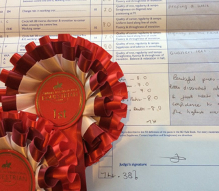 So Cliquot wins her two first grown up competitions in great